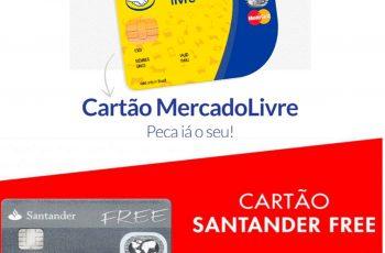 Cartão Santander Free X Cartão Mercado Livre