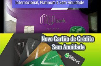 Cartão Original X Cartão Nubank
