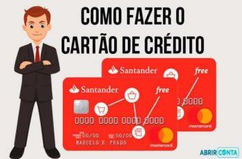 Como Solicitar o Cartão de crédito Santander Free